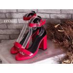 รองเท้าแฟชั่น แบบสวม ส้นสูง รัดข้อ ทรงสวยเรียบเก๋ ส้นตัดสูงประมาณ 4 นิ้ว แมทสวยได้ทุกชุด