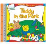 teddy in park