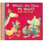 What time wolf -ปกอ่อน,Lift-the-Flaps