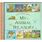 my animal treasury -นิทานปกแข็ง