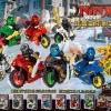 เลโก้จีน LELE.31050 ชุด Ninja Go Movie มอเตอร์ไซต์