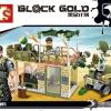 เลโก้จีน Sembo.11676 ชุด Block Gold