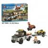 เลโก้จีน Bela.10649 ชุด Urban ATV Race Team