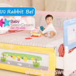 ที่กั้นเตียง Rabbit Bel สูง 69 cm สำหรับเตียง 5, 6 ฟุต
