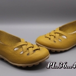 รองเท้าคัทชู ส้นแบนสไตล์เพื่อสุขภาพ หนังนิ่ม แต่งหนังสานด้านหน้าสวยเก๋ พื้นยางนิ่มยืดหยุ่น ทรงสวย ใส่สบาย แมทสวยได้ทุกชุด