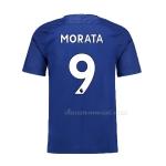 เสื้อบอลเชลซีเหย้า+ชื่อเบอร์โมราต้าเบอร์ 9 Chelsea Home + Morata 9 2017/2018