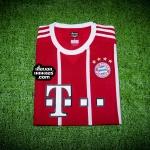 เสื้อบอลเวอร์ชั่นนักเตะ Adizero บาเยิร์น มิวนิค เหย้า Bayern Munich Home 2017/2018