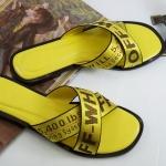 รองเท้าแตะแฟชั่น แบบสวม แต่งผ้าไขว์ลายสวยเก่สไตล์แบรนด์ ใส่สบาย แมทสวยได้ทุกชุด (Y196)