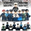 เลโก้จีน POGO.1034-1041 ชุด Police (สินค้ามือ 1 ไม่มีกล่อง)