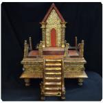 แท่น(บัลลังก์)วางพระพุทธรูป ศิลปะพม่า