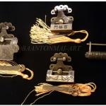 ชุดกุญแจล๊อค ศิลปะจีน โลหะผสม ชุดละ