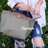 กระเป๋าสะพายแฟชั่น กระเป๋าสะพายข้างผู้หญิง ลองชอม style รุ่น Original [สีเขียว ]