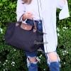 กระเป๋าสะพายแฟชั่น กระเป๋าสะพายข้างผู้หญิง ลองชอม style รุ่น Original [สีดำ ]