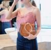 กระเป๋าถือ กระเป๋าสะพายข้างแฟชั่น Chol bag [สีน้ำตาล ]