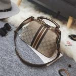 กระเป๋าสะพายแฟชั่น กระเป๋าสะพายข้างผู้หญิง Style Gucci วัสดุผ้าหนาปักดิ้นเงาเล่นแสง [สีทอง ]