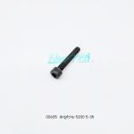 สกรูหัวจม 5200-B028 5x35 screw