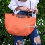 กระเป๋าสะพายแฟชั่น กระเป๋าสะพายข้างผู้หญิง ลองชอม style รุ่น Original [สีส้ม ]