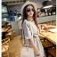 กระเป๋าสะพายแฟชั่น กระเป๋าสะพายข้างผู้หญิง ดีไซน์น่ารักสไตล์เกาหลี [สีขาว ] thumbnail 3
