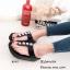 พร้อมส่ง รองเท้าแตะเพื่อสุขภาพ แบบคีบ พื้นSoft Comfort แฟชั่นเกาหลี [สีดำ ] thumbnail 2