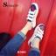 พร้อมส่ง รองเท้าผ้าใบแฟชั่นสีขาว แต่งลายหัวใจ สไตล์เก๋ แฟชั่นเกาหลี [สีขาว ] thumbnail 5