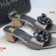 รองเท้าส้นตันเปิดส้น CN CamilliaSandals Style [สีเทา ] thumbnail 3