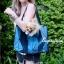 กระเป๋าสะพายแฟชั่น กระเป๋าสะพายข้างผู้หญิง Baobao crystal [สีน้ำเงินเข้ม]