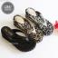 รองเท้าแตะแบบหนีบ สไตล์ลำลอง [สีดำ ] thumbnail 3