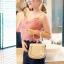 กระเป๋าสะพายแฟชั่น กระเป๋าสะพายข้างผู้หญิง Chol bag [สีครีม]