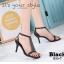 พร้อมส่ง รองเท้าส้นเข็มหุ้มข้อสีดำ ผ้าสักหราด แฟชั่นเกาหลี แฟชั่นเกาหลี [สีเบจ ] thumbnail 3