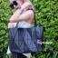 กระเป๋าสะพายแฟชั่น กระเป๋าสะพายข้างผู้หญิง Baobao crystal [สีดำ] thumbnail 2