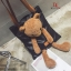 กระเป๋าสะพายแฟชั่น สะพายไหล่ ตุ๊กตาหมี [สีดำ ] thumbnail 7