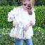 กระเป๋าสะพายแฟชั่น กระเป๋าสะพายข้างผู้หญิง Robot Nologo เนื้อเงา [สีเทา] thumbnail 1