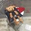 กระเป๋าสะพายแฟชั่น สะพายไหล่ ตุ๊กตาหมี [สีดำ ] thumbnail 8