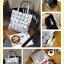 กระเป๋าถือ กระเป๋าสะพายข้างแฟชั่น งาน BAOBAO ทรงสีเหลี่ยม [สีเงิน ] thumbnail 2