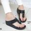 พร้อมส่ง รองเท้าแตะเพื่อสุขภาพสีดำ SWEETIE Sandals Style แฟชั่นเกาหลี [สีดำ ] thumbnail 1