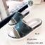 พร้อมส่ง รองเท้าแตะแฟชั่นสีเงิน หนังนิ่ม พิมล์ลายพราง แฟชั่นเกาหลี [สีเงิน ] thumbnail 2