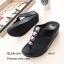 พร้อมส่ง รองเท้าแตะเพื่อสุขภาพ แบบคีบ พื้นSoft Comfort แฟชั่นเกาหลี [สีดำ ] thumbnail 4
