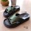 รองเท้าแตะเปิดส้น สายคาดไขว้สไตล์เกาหลี [สีเขียว ] thumbnail 1