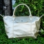 กระเป๋าสะพายแฟชั่น กระเป๋าสะพายข้างผู้หญิง ลองชอมหนัง Style [สีทอง ] thumbnail 3