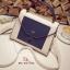 กระเป๋าสะพายแฟชั่น กระเป๋าสะพายข้างผู้หญิง 2tone วัสดุหนังPUหนาอย่างดี [สีกรม ]