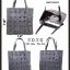 กระเป๋าถือ กระเป๋าสะพายข้างแฟชั่น งาน BAOBAO ทรงสีเหลี่ยม [สีเทา ] thumbnail 2