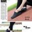 พร้อมส่ง รองเท้าผ้าใบแฟชั่น งานผ้า น้ำหนักเบา ทรงยอดฮิต แฟชั่นเกาหลี [สีดำ ] thumbnail 3