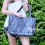 กระเป๋าสะพายแฟชั่น กระเป๋าสะพายข้างผู้หญิง Baobao crystal [สีเทาเข้ม] thumbnail 2