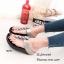 พร้อมส่ง รองเท้าแตะเพื่อสุขภาพ แบบคีบ พื้นSoft Comfort แฟชั่นเกาหลี [สีเทา ] thumbnail 2