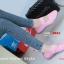 รองเท้าผ้าใบเพื่อสุขภาพ ผ้ายางถัก เอาใจสปอร์ตเกิร์ล [สีชมพู ] thumbnail 6