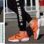 พร้อมส่ง รองเท้าผ้าใบแฟชั่นสีดำ น้ำหนักเบา ทรงสปอร์ต แฟชั่นเกาหลี [สีดำ ] thumbnail 3