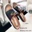 พร้อมส่ง รองเท้าแตะแฟชั่นสีน้ำตาล หนังนิ่ม พิมล์ลายพราง แฟชั่นเกาหลี [สีน้ำตาล ] thumbnail 3