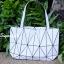 กระเป๋าสะพายแฟชั่น กระเป๋าสะพายข้างผู้หญิง Baobao crystal [สีขาว] thumbnail 4