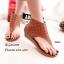 พร้อมส่ง รองเท้าหุ้มข้อสีน้ำตาล แฟชั่นแคชชวล ฉลุลาย แฟชั่นเกาหลี [สีน้ำตาล ] thumbnail 2