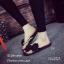 พร้อมส่ง รองเท้าแตะผู้หญิงสีดำ แบบคีบ แต่งโบว์ประดับมุก แฟชั่นเกาหลี [สีดำ ] thumbnail 2